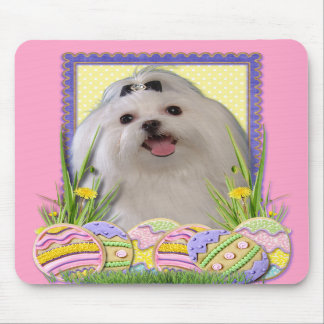 Easter Egg Cookies - Maltese Mouse Pad
