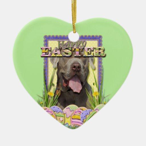 Easter Egg Cookies - Mastiff Christmas Tree Ornament