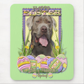 Easter Egg Cookies - Mastiff Mouse Pad