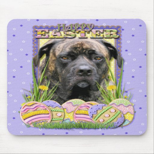 Easter Egg Cookies - Mastiff Mousepads