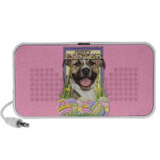 Easter Egg Cookies - Pitbull - Tigger iPhone Speaker
