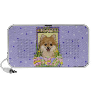 Easter Egg Cookies - Pomeranian iPod Speakers