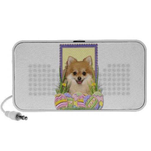 Easter Egg Cookies - Pomeranian Travel Speaker