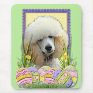 Easter Egg Cookies - Poodle - Apricot Mouse Pad