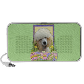 Easter Egg Cookies - Poodle - Apricot Mp3 Speaker