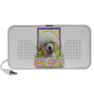 Easter Egg Cookies - Poodle - Apricot Travelling Speakers