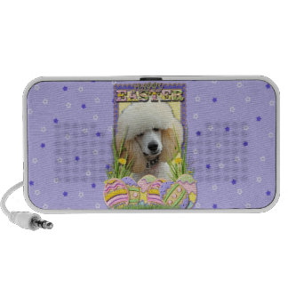 Easter Egg Cookies - Poodle - Apricot Travel Speakers