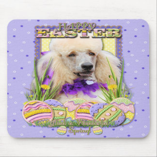 Easter Egg Cookies - Poodle - Champagne Mousepads