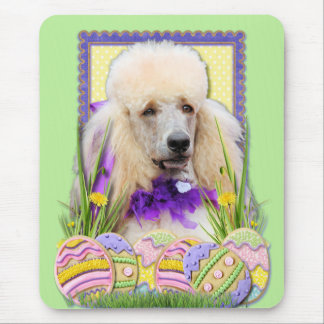 Easter Egg Cookies - Poodle - Champagne Mouse Pad