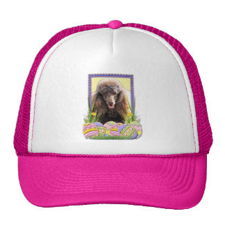Easter Egg Cookies - Poodle - Chocolate Trucker Hat
