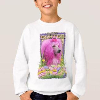 Easter Egg Cookies - Poodle - Pink Sweatshirt