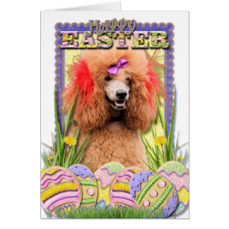Easter Egg Cookies - Poodle - Red Card