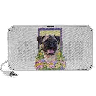Easter Egg Cookies - Pug Mini Speakers