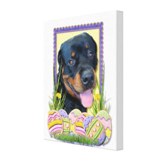 Easter Egg Cookies - Rottweiler - Harley Canvas Prints