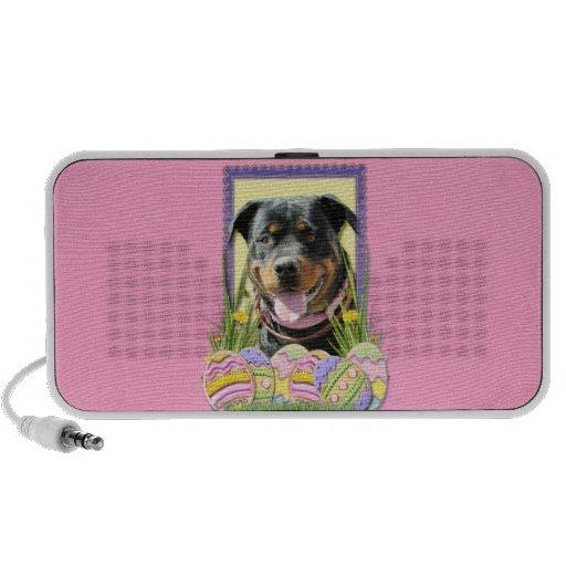 Easter Egg Cookies - Rottweiler iPhone Speakers