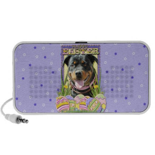 Easter Egg Cookies - Rottweiler Travel Speaker