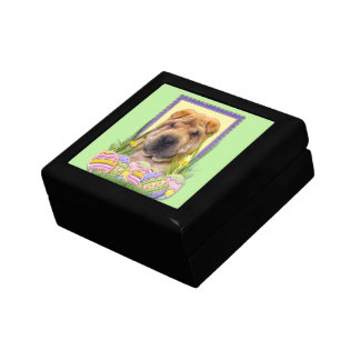 Easter Egg Cookies - Shar Pei Small Square Gift Box