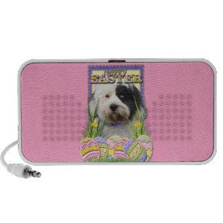 Easter Egg Cookies - Tibetan Terrier Travelling Speakers