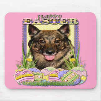 Easter Egg Cookies - Vallhund Mousepad