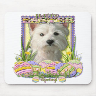 Easter Egg Cookies - West Highland Terrier Mouse Pads