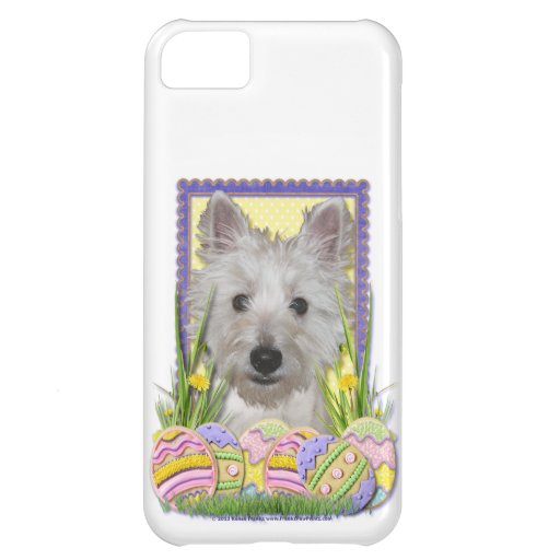 Easter Egg Cookies - West Highland Terrier - Tank iPhone 5C Case