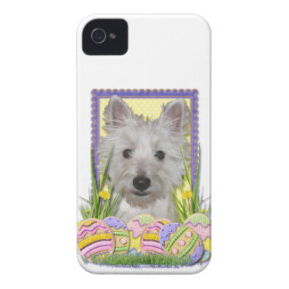 Easter Egg Cookies - West Highland Terrier - Tank iPhone 4 Cover