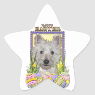 Easter Egg Cookies - West Highland Terrier - Tank Stickers