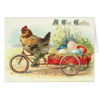 Easter Egg delivery service Greeting Card