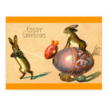 Easter Egg Horse Post Card