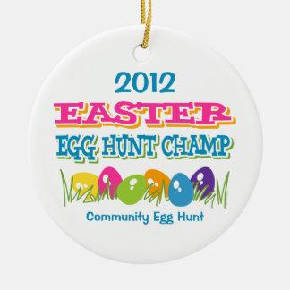 Easter Egg Hunt Champ Ornament