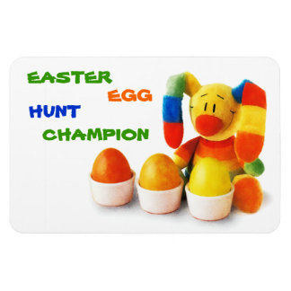 Easter Egg Hunt Champion. Easter Gift Magnet