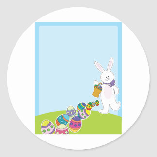 Easter Egg Hunt Classic Round Sticker