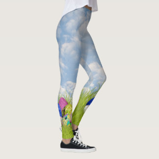 Easter Egg Hunt Holiday Novelty Fashion Leggings