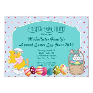 Easter Egg Hunt 4.5x6.25 Paper Invitation Card