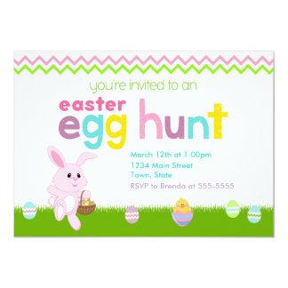 Easter Egg Hunt Invitation Card 5x7