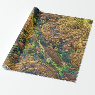 EASTER EGG HUNT MANDELBULB 3D. FRACTAL IMG WRAPPING PAPER