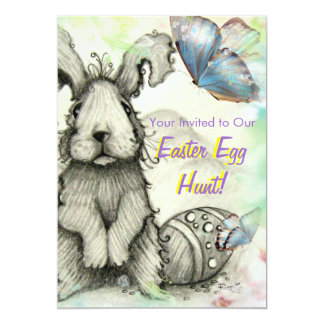 Easter Egg Hunt Party Invites