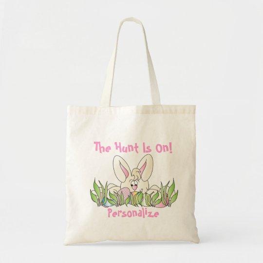 Easter Egg Hunt - Personalise Tote Bag