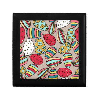 Easter Egg hunt Small Square Gift Box