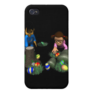 Easter Egg Hunting iPhone 4/4S Cases