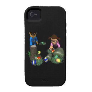 Easter Egg Hunting Vibe iPhone 4 Covers