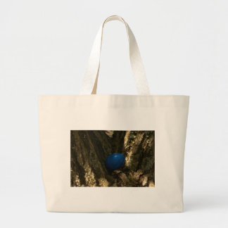 easter egg in a tree for easter egg hunt tote bags