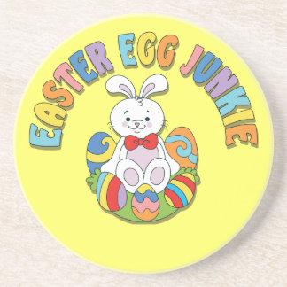 Easter Egg Junkie Sandstone Coaster Drink Coasters