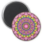 Easter Egg Kaleidoscope Magnet