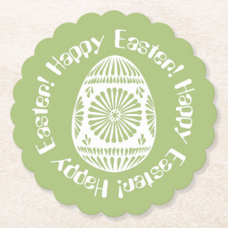 Easter Egg paper coasters 1
