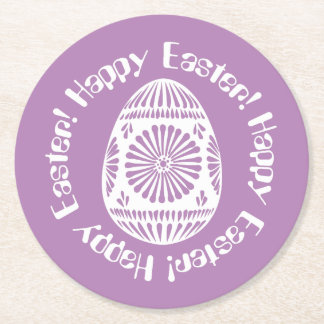 Easter Egg paper coasters 2