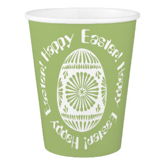 Easter Egg paper cups 1