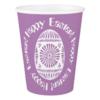 Easter Egg paper cups 2