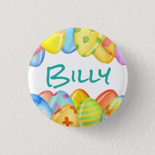Easter Egg Pastel 3 Cm Round Badge