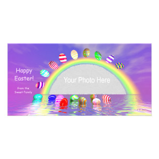 Easter Egg Ride Picture Card